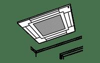 エアコン業務用天井埋込型